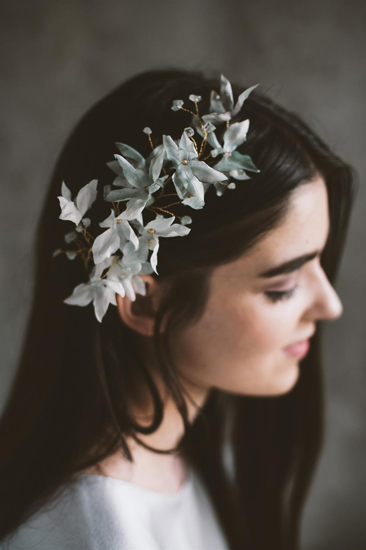 Azulette Bridal Flower Vine from Mignonne Handmade