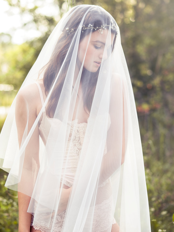 Bridal Blusher Veil from Elibre Handmade