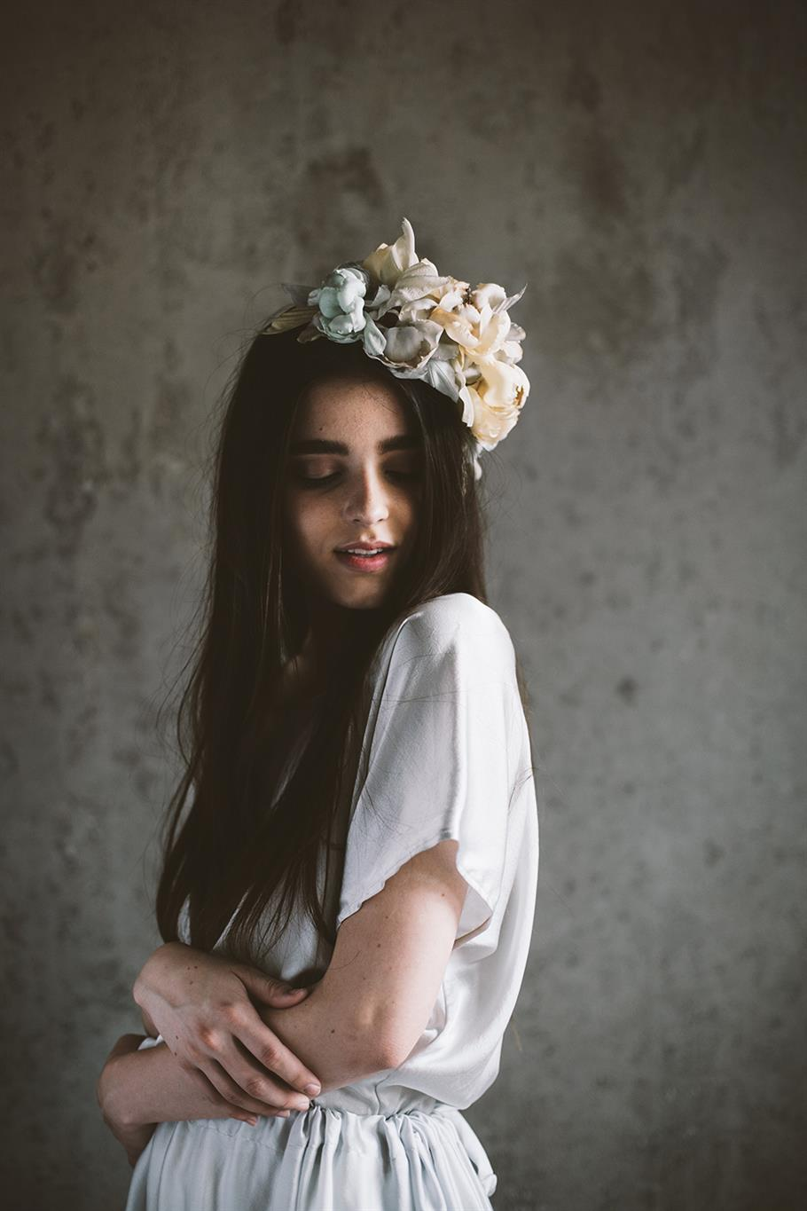 Bridal Flower Crown from Mignonne Handmade