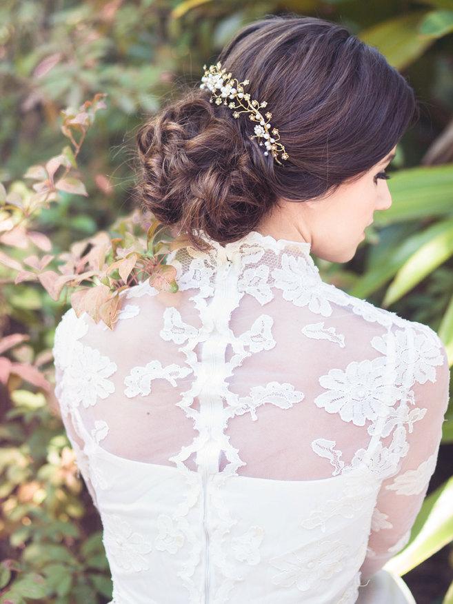 Floral Bridal Vine from Elibre Handmade