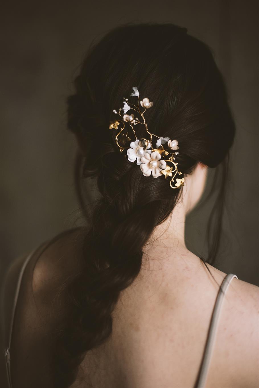 Brunella Bridal Hair Pin from Mignonne Handmade