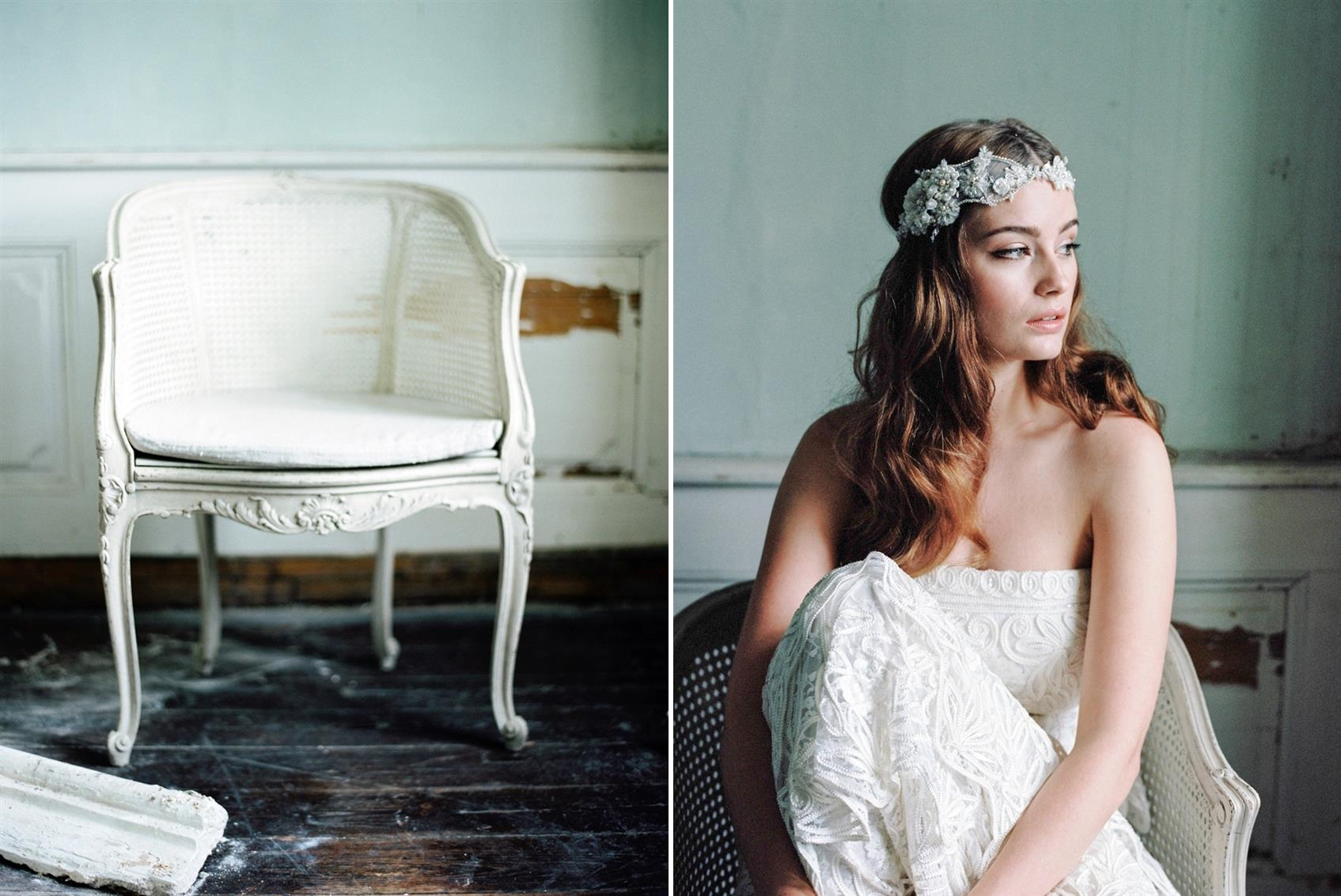 Bridal Headpieces with Parisian Chic from Jannie Baltzer
