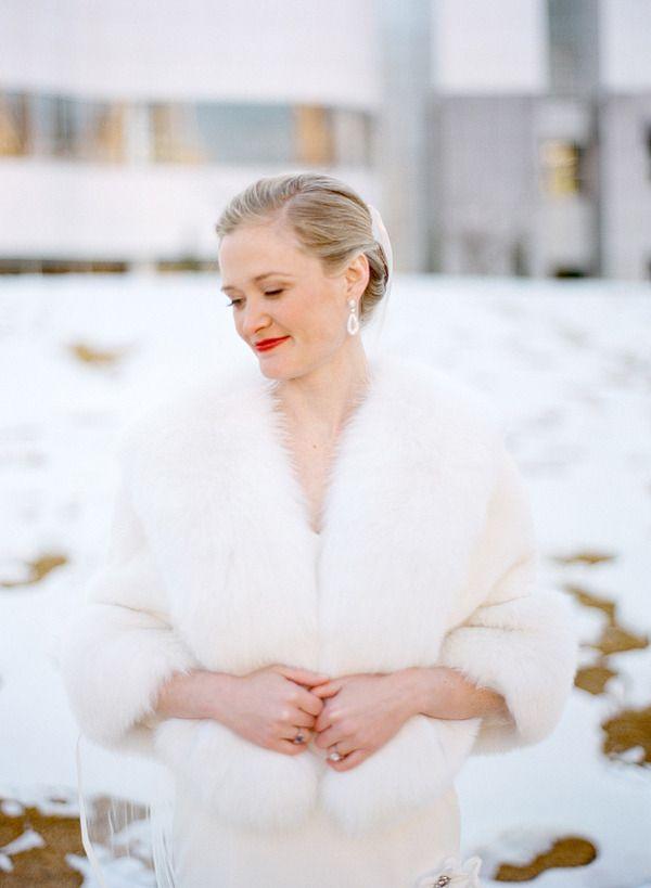 Feather Bridal Coat
