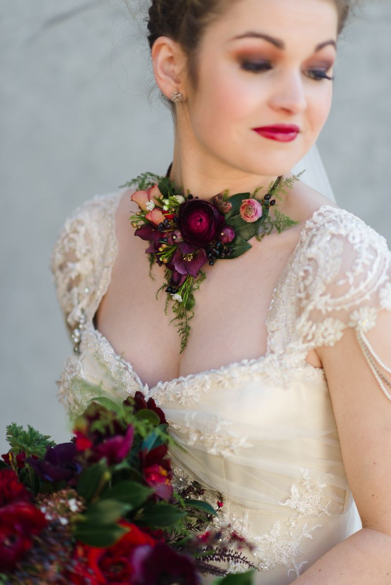 Unique wedding dress alternative wedding dress alternate wedding - 10 Unique Creative Bridesmaid Bouquet Alternatives Flower Necklace