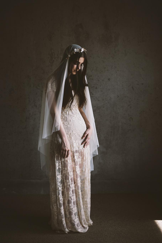 Wedding Hair Accessories from Mignonne Handmade - Flower Vine & Veil