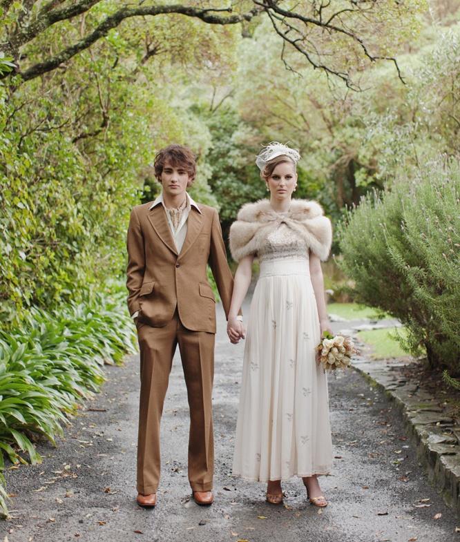 Bridal Fur Stole