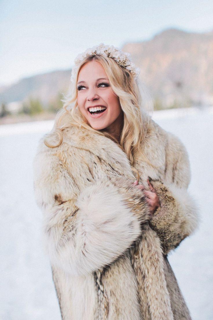 Bridal Fur Coat