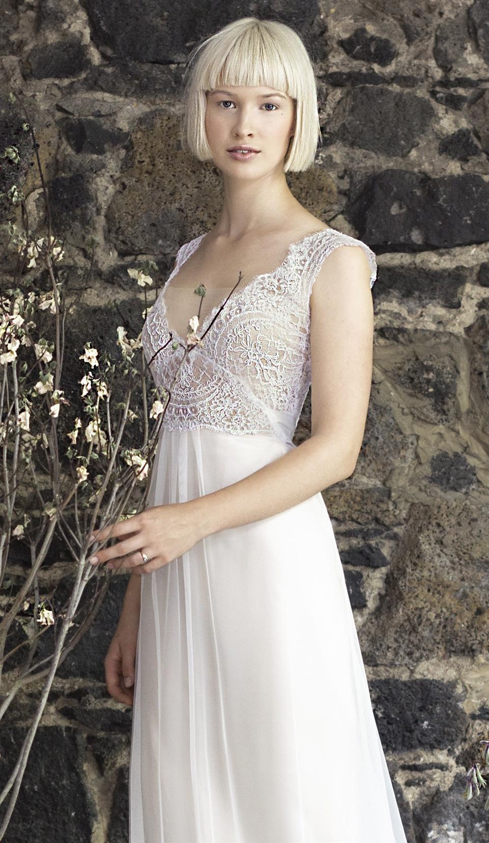 Gwendolynne White - Arielle Wedding Dress