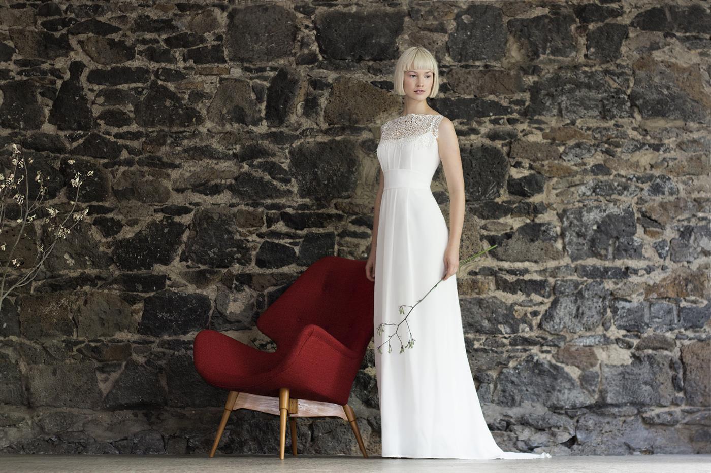Gwendolynne White - Beth Wedding Dress