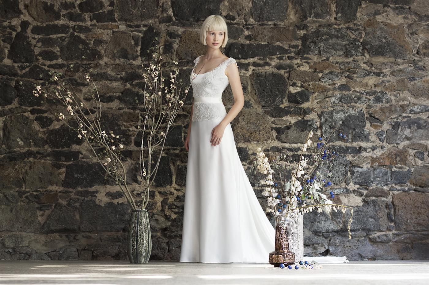 Gwendolynne White - Monique Wedding Dress