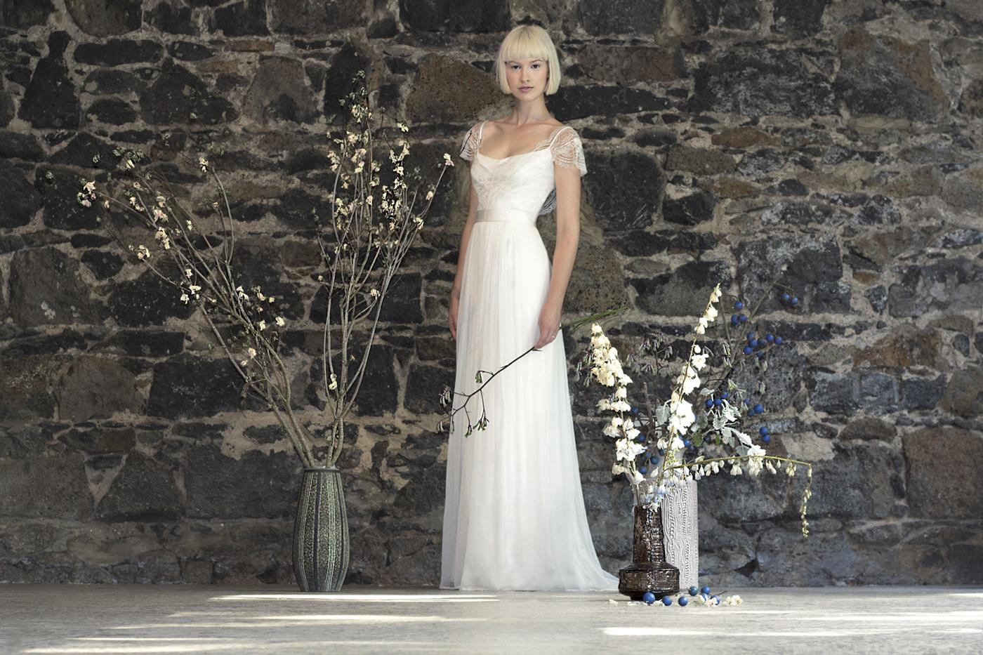 Gwendolynne White - Natalie Wedding Dress