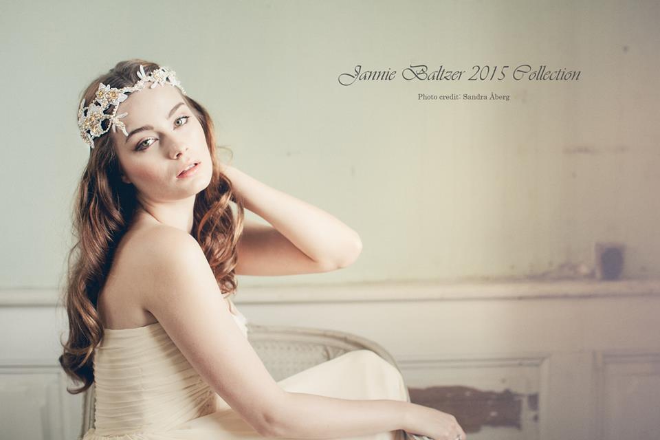 Jannie Baltzer's 2015 Bridal Accessory Collection