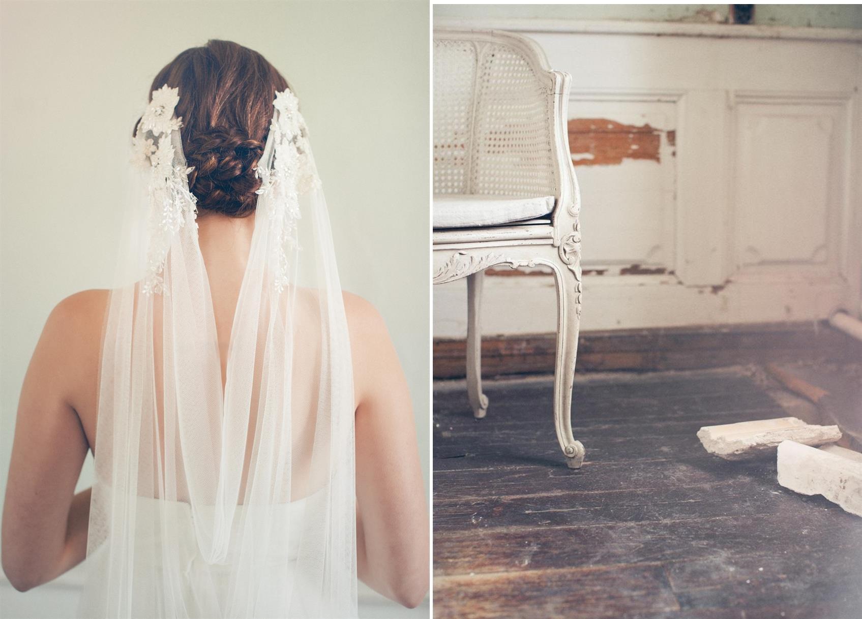 Joy - Vintage Veil with Parisian Chic from Jannie Baltzer