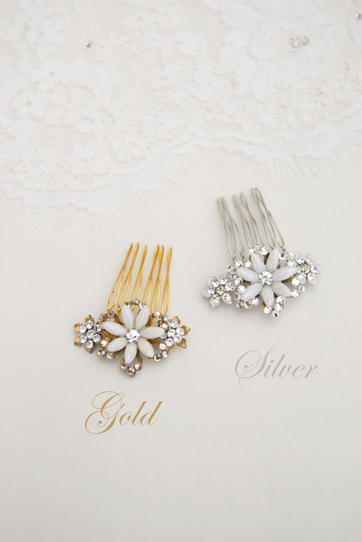 Bridal Hair Combs from Elibre Handmade