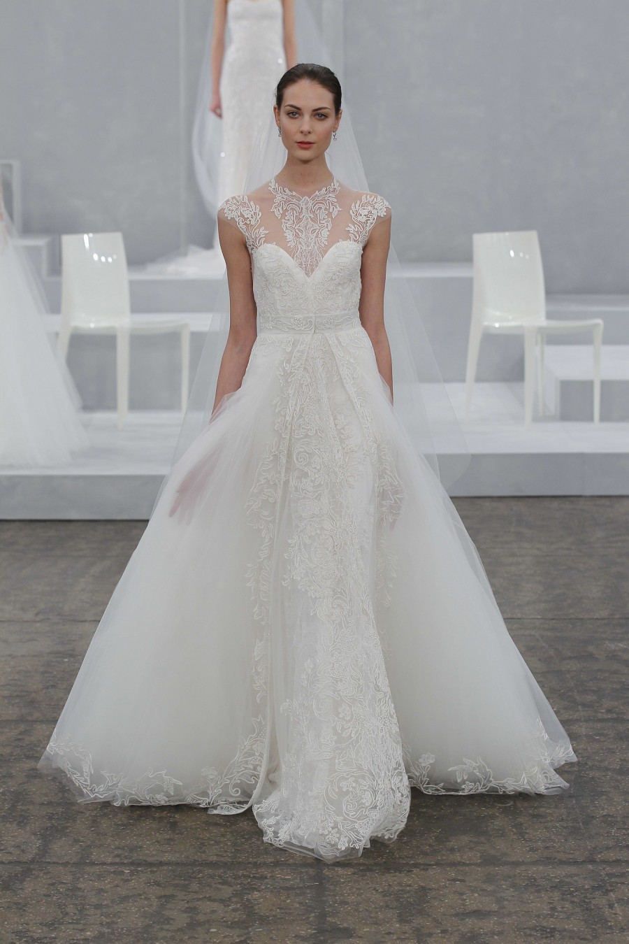 Monique Lhuillier Spring 2015 Wedding Dress