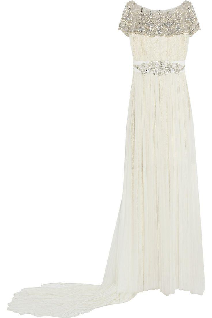 Sparkly Marchesa Wedding Dress