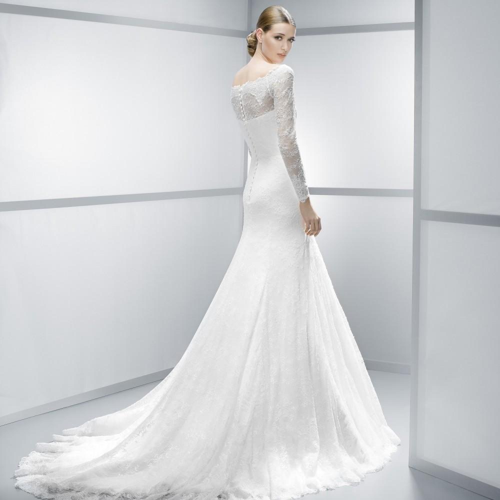 Long Sleeve Lace Wedding Dress from Jesus Peiro