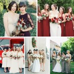 5 Winter Bridesmaids Colours Sure to Wow