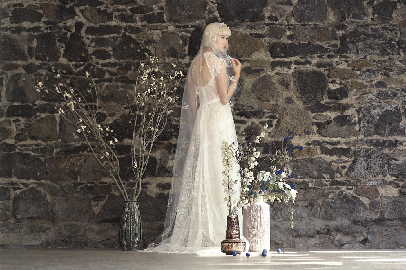 Gwendolynne White - Adelaide Ivory Wedding Dress
