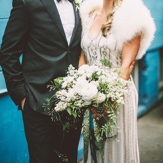 Wedding Bouquet Recipe ~ A Soft & Whimsical White Bouquet