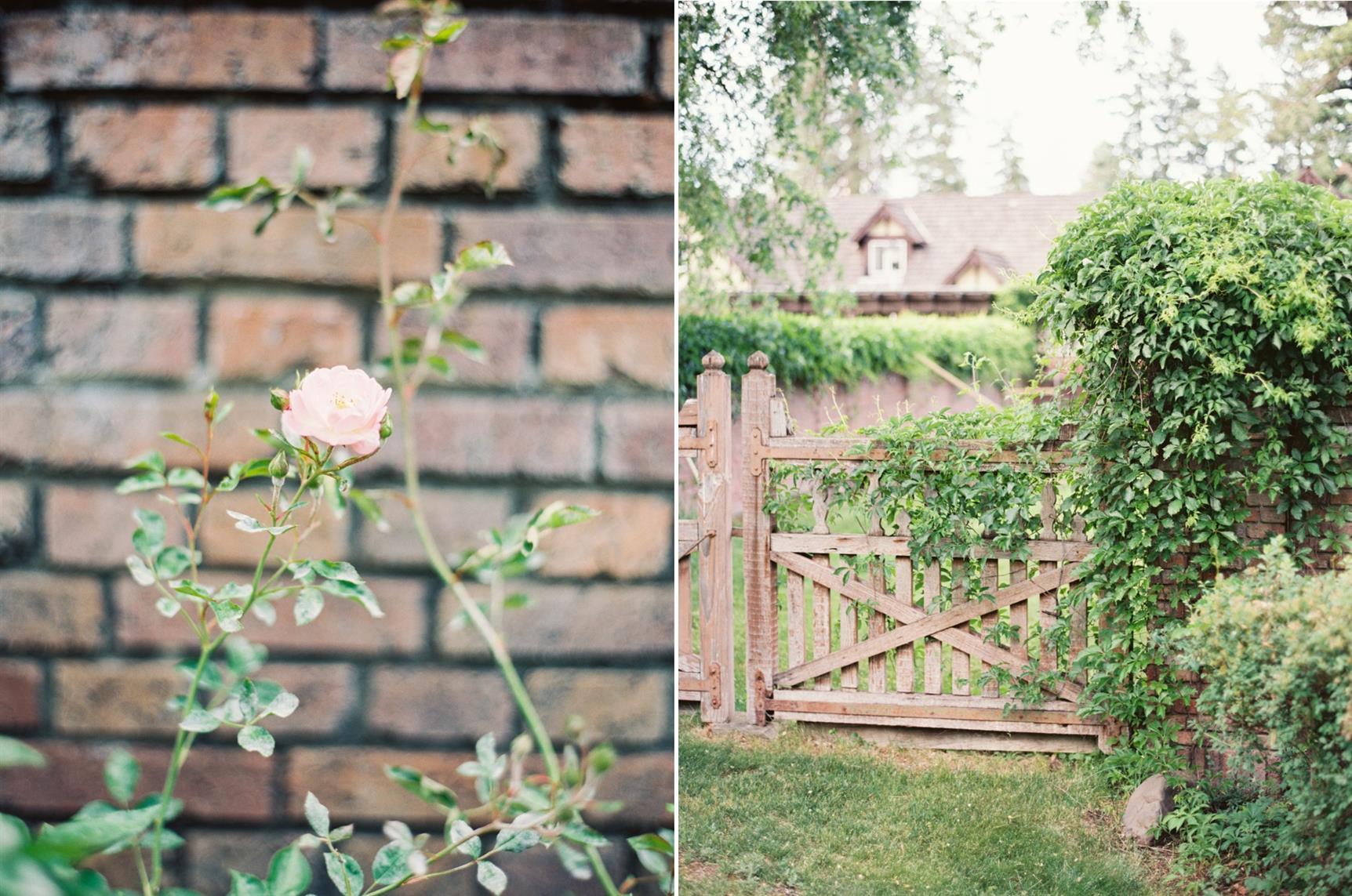 """""""The Secret Garden"""" A Romantic Garden Wedding Inspiration Shoot"""