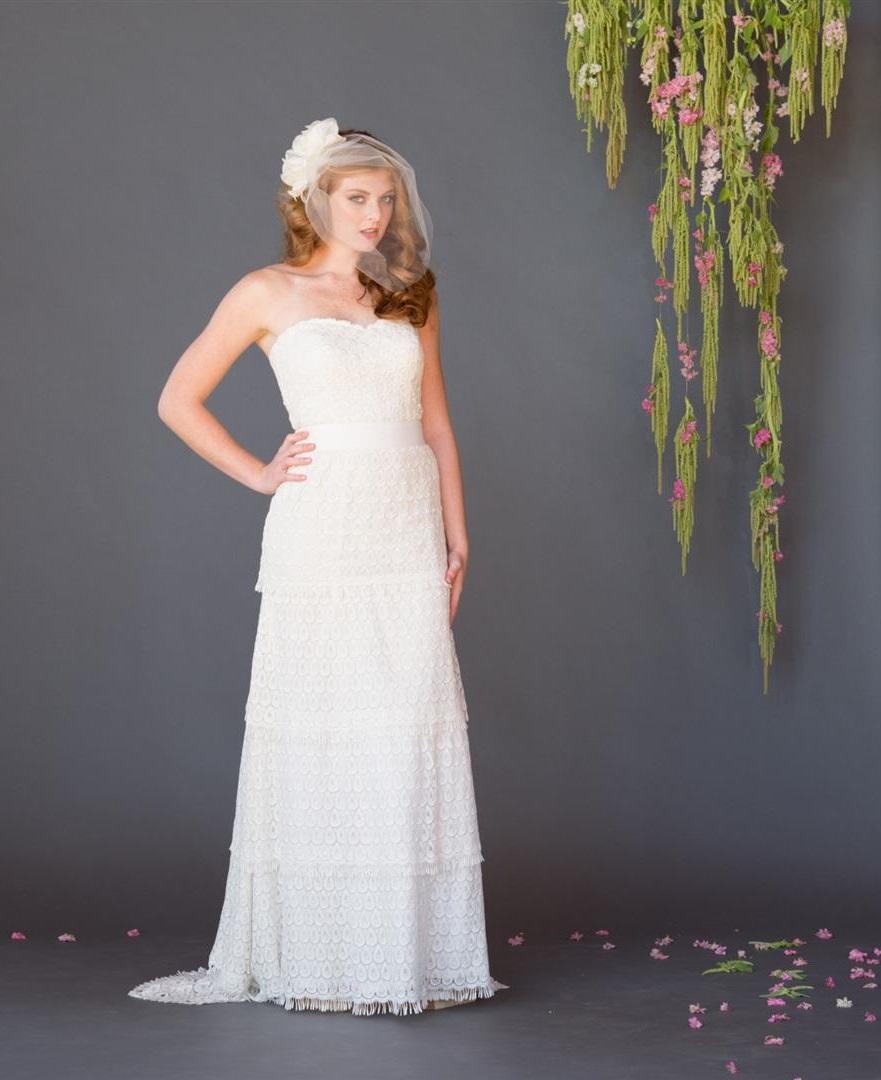 Marie Celia Grace Eco Fair Trade Wedding Dress