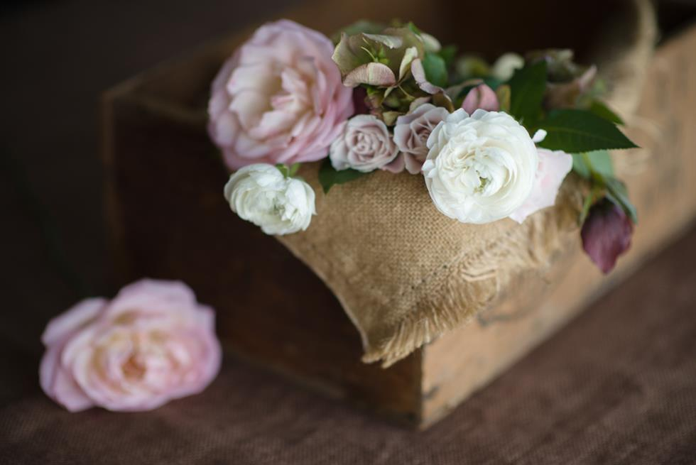 Rose Bridal Bouquet ~ A Pretty Posy of Pinks