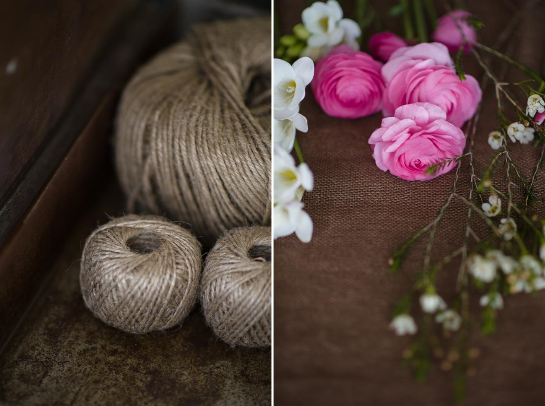 Bridal Bouquet Recipe ~ A Pretty Posy of Pinks