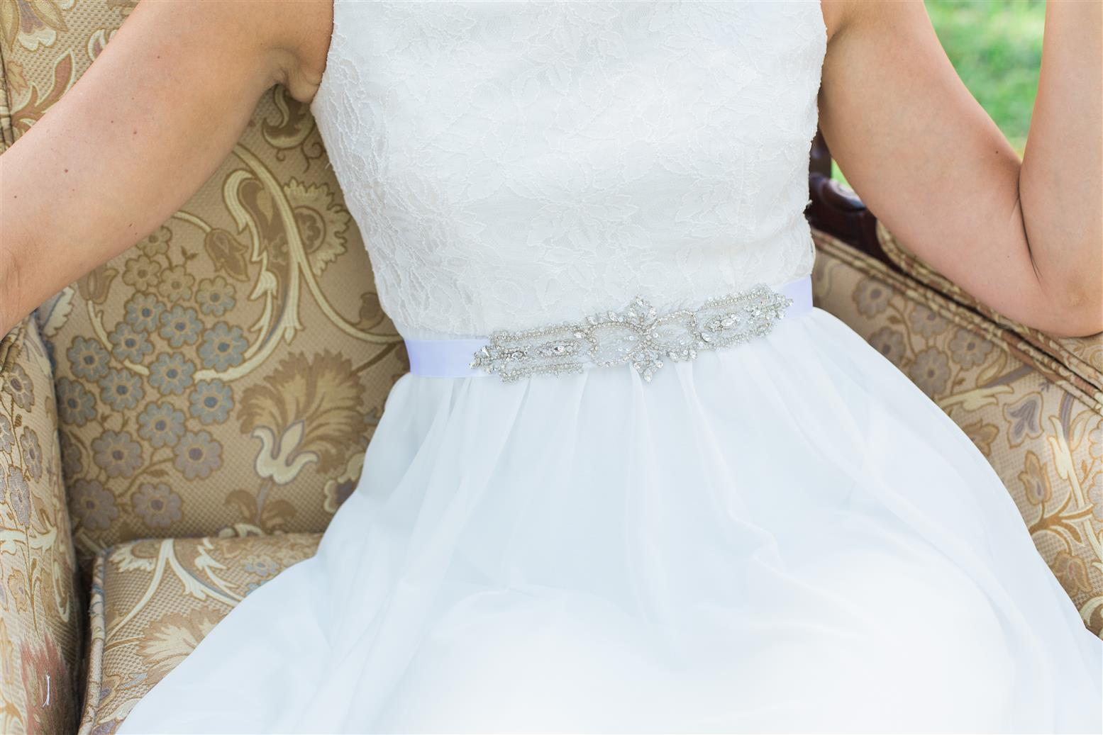 Brittany Bridal Belt from Nestina Accessories 2015 Collection