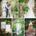 A Lush Spring Boho-Vintage Wedding Inspiration Shoot
