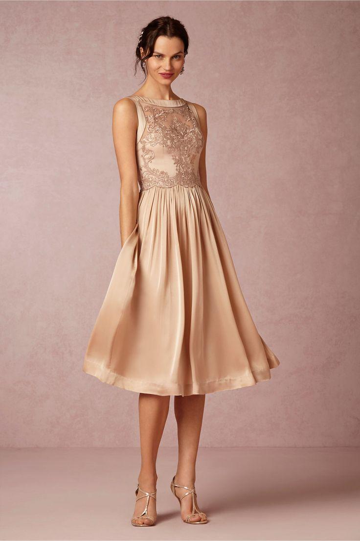 Alma Blush Bridesmaid Dress from BHLDNs Spring 2015 Collection