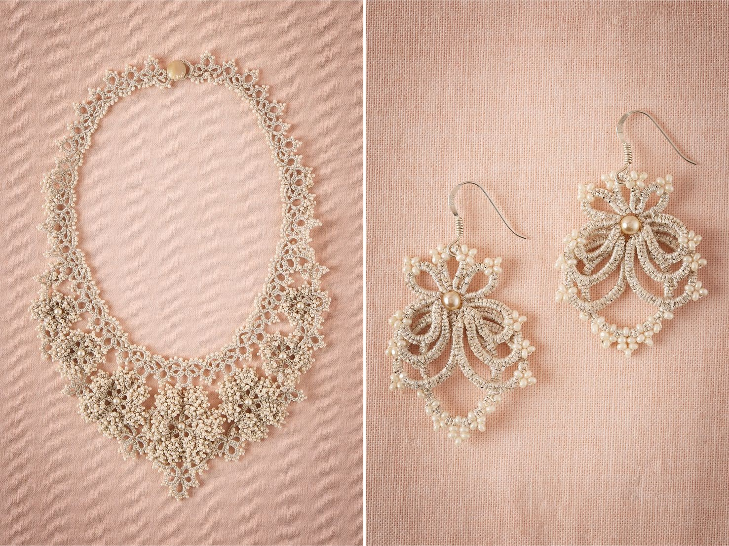 Camellia Necklace & Iona Earrings