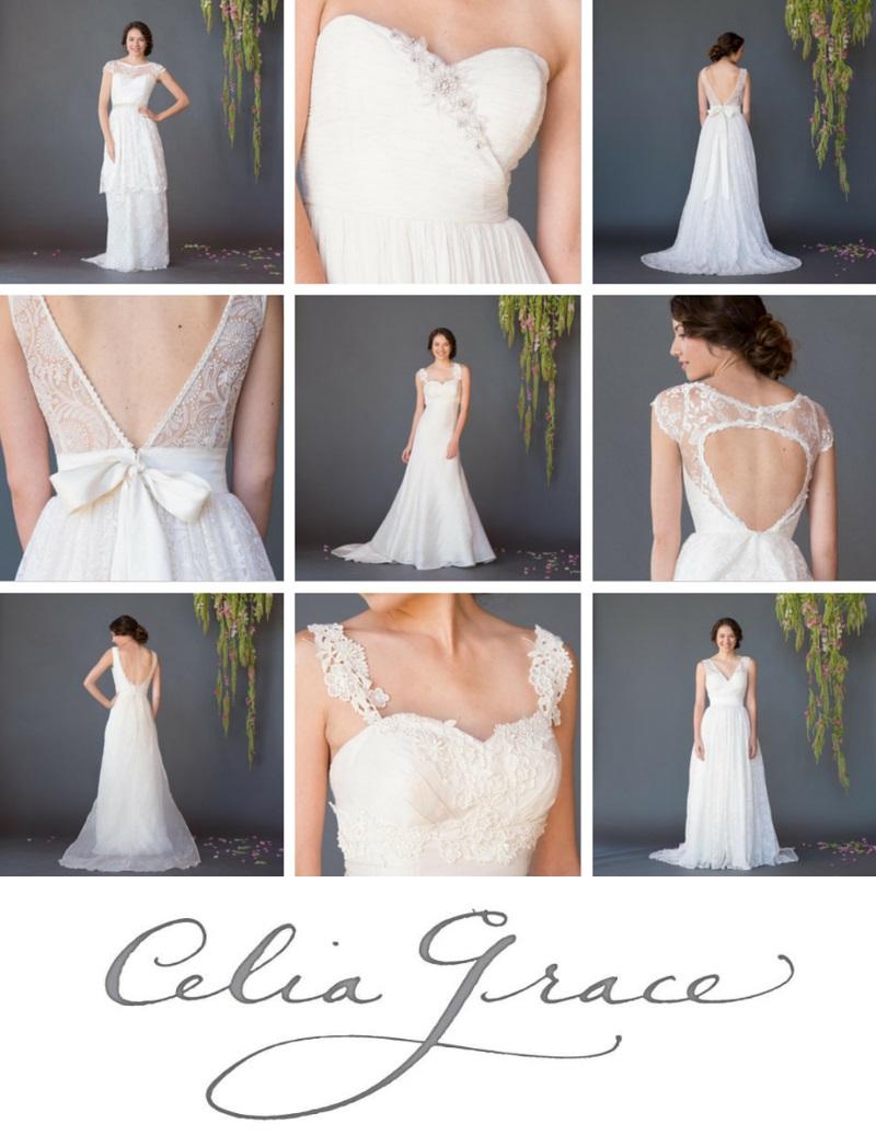 Fair Trade Wedding Dresses - Celia Grace 2015 Bridal Collection