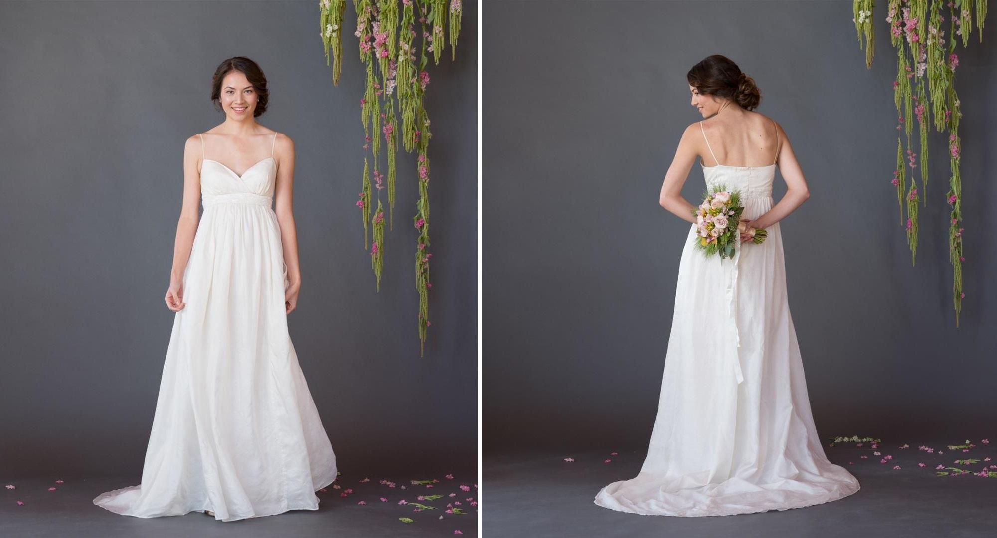 Eleanor Celia Grace Eco Fair Trade Wedding Dress