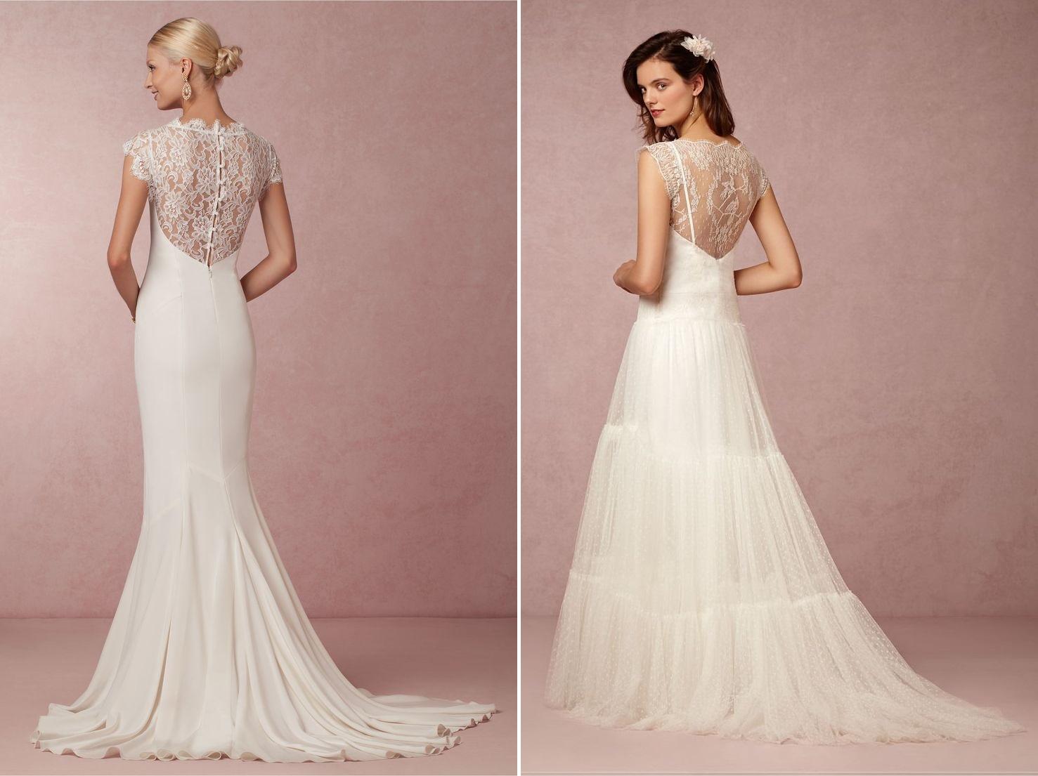 Lauren & Margot Wedding Dresses from BHLDNs Spring 2015 Bridal Collection