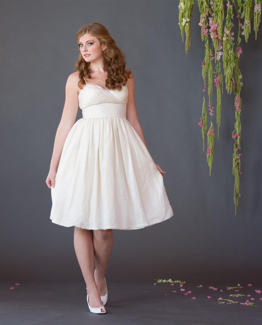 Lucille Tea Length Wedding Dress from Celia Grace