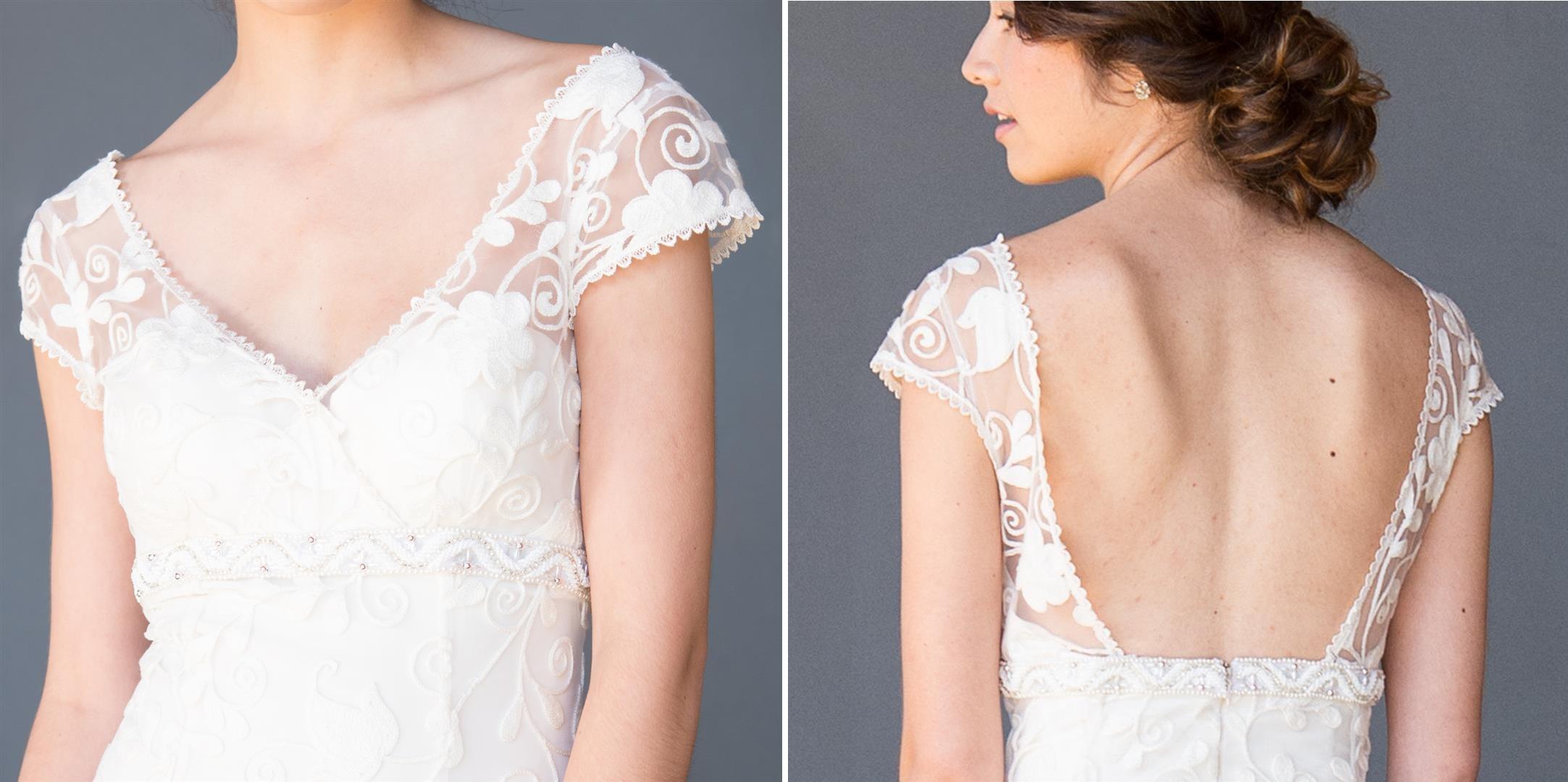 Maya Celia Grace Eco Fair Trade Wedding Dress