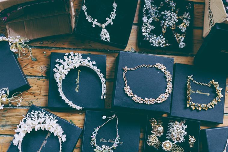 Vintage Bridal Headpieces from Rosie Weisencrantz