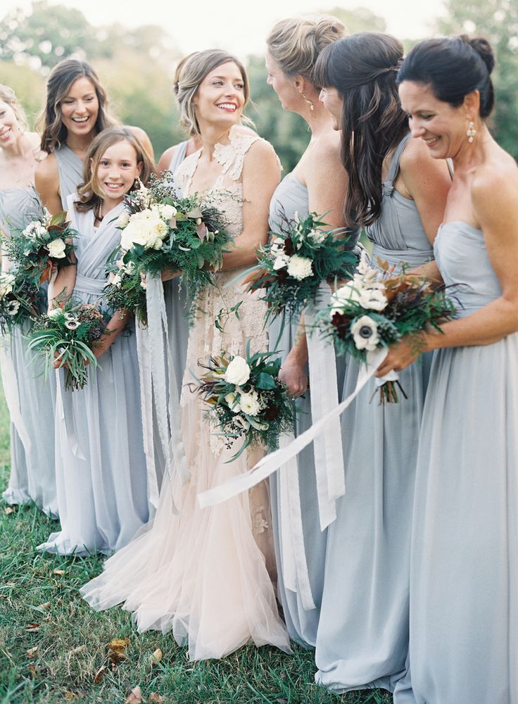 Romantic Wedding Inspiration In A Palette Inspired By