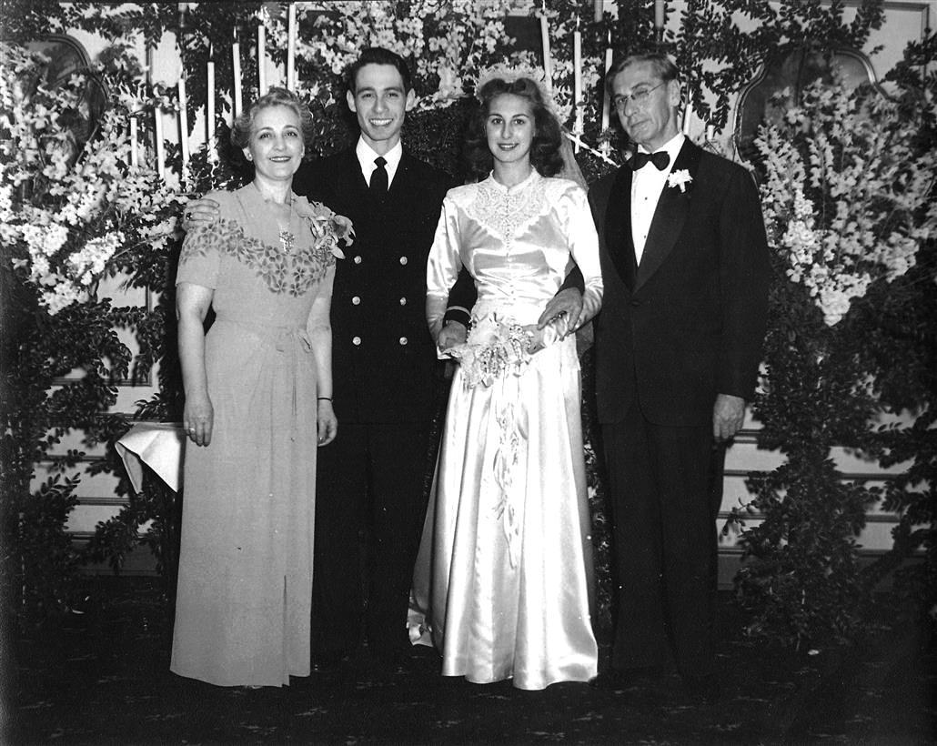 Chic Vintage 1940s Wedding