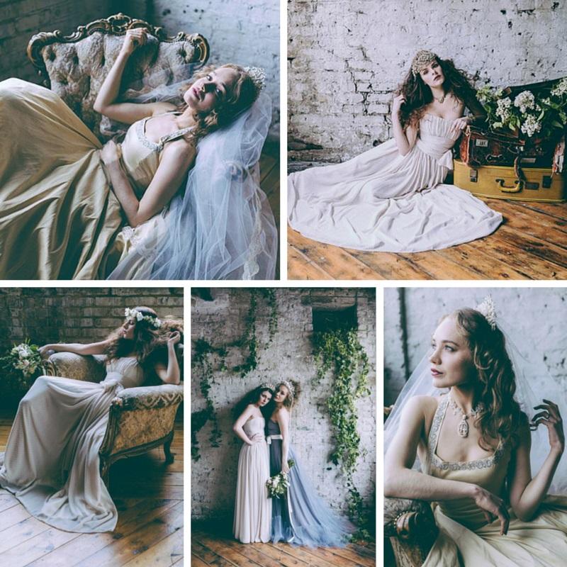 Sleeping Beauty Bridal Fashion Inspiration Shoot