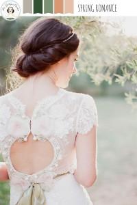 Spring Romance - Spring Wedding Colour Palette