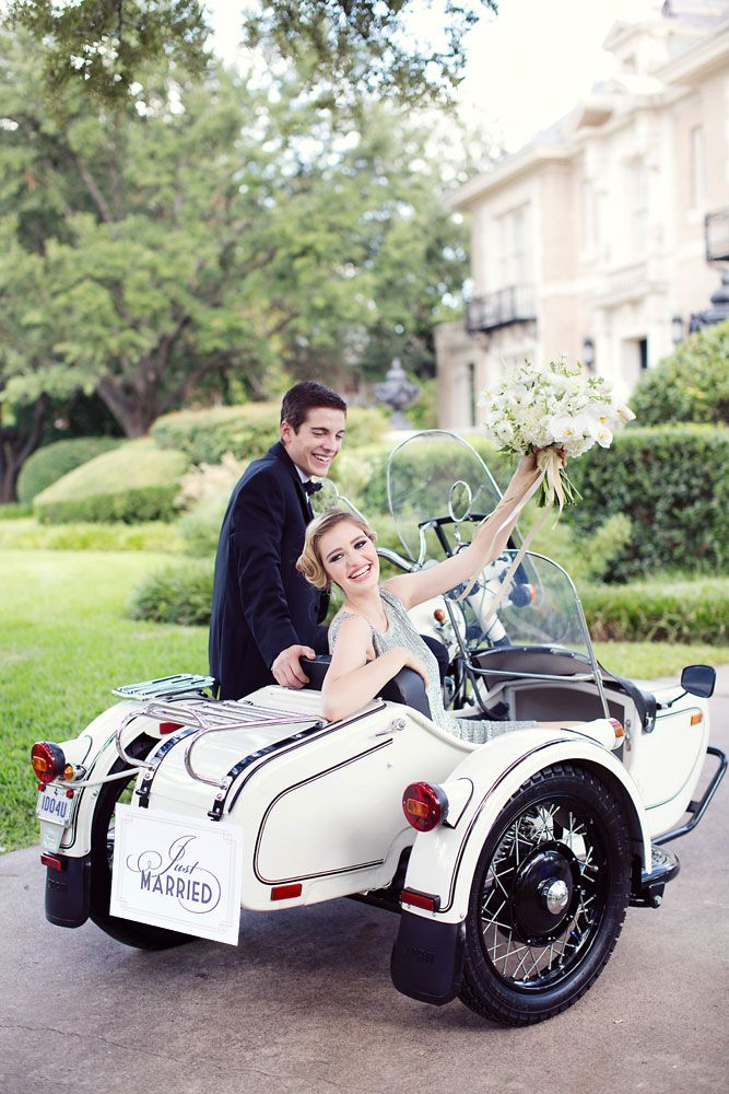Horse Drawn Carriage Wedding Exits