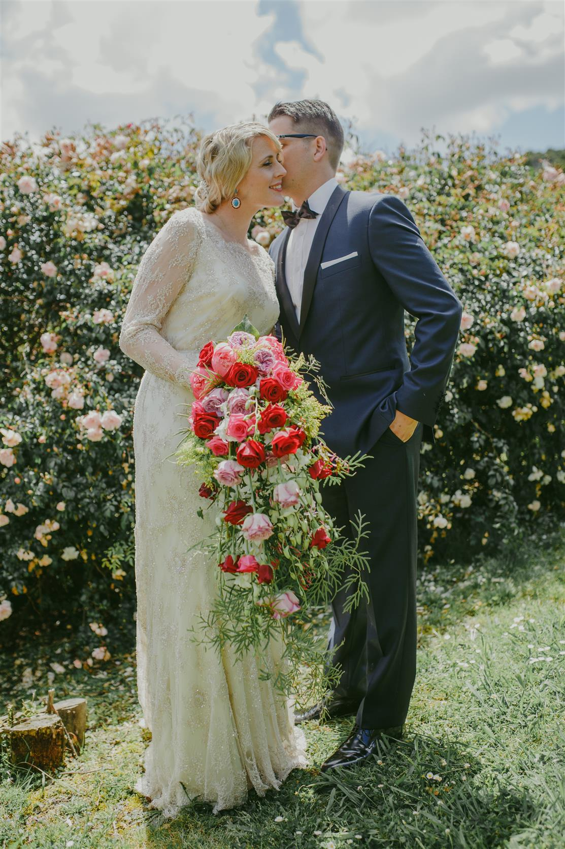 An Elegant Modern Vintage Spring Wedding