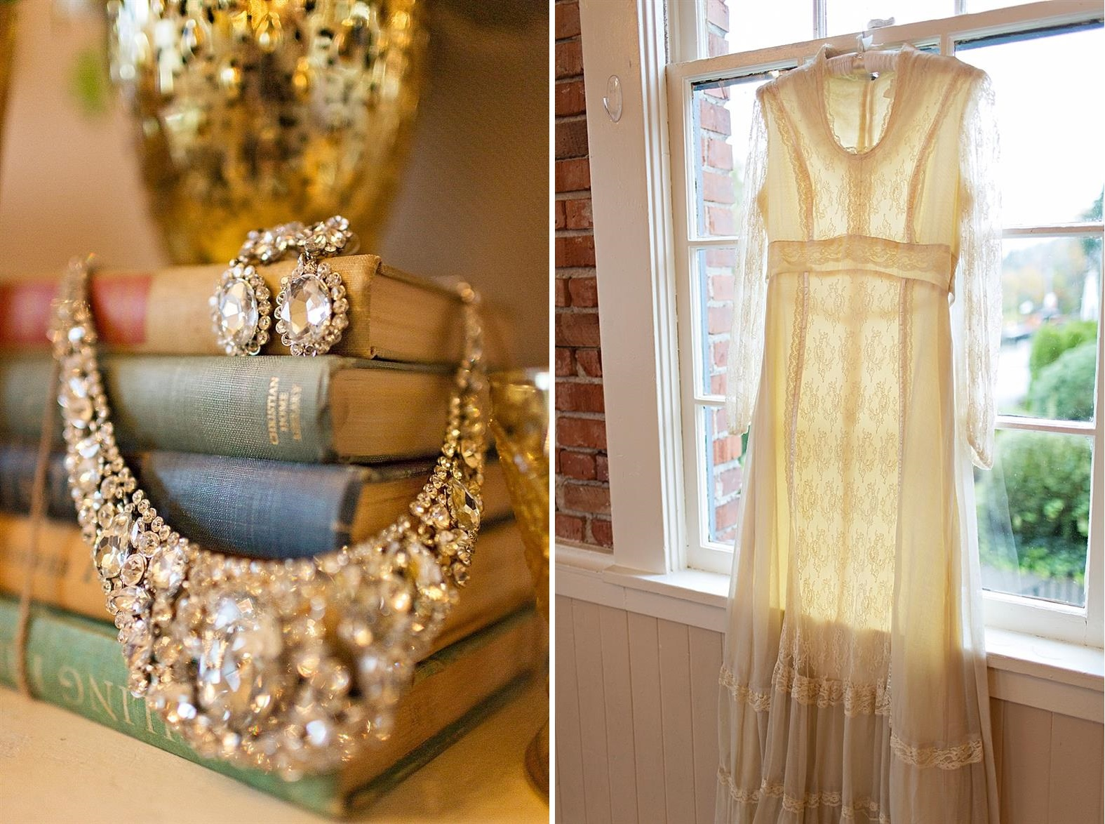 Vintage Winter Wedding Inspiration with Art Deco Flair