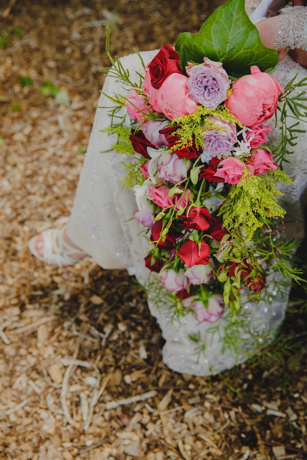 Trailing Bouquet - An Elegant Spring Vintage Wedding