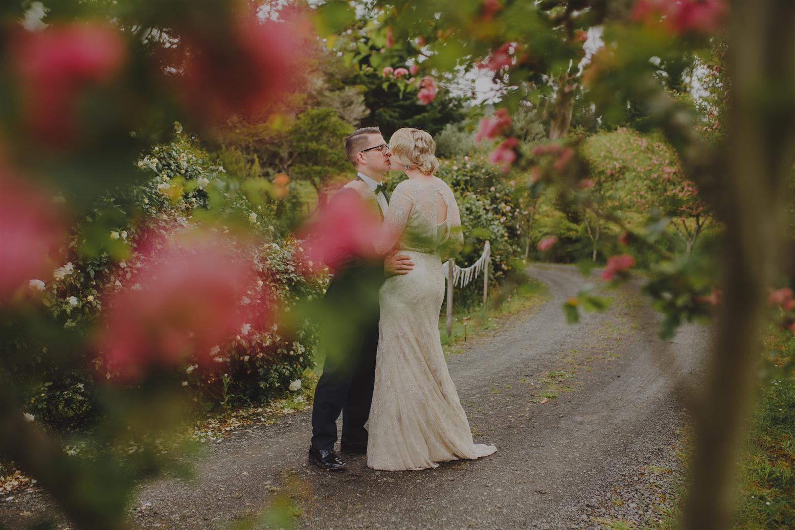 An Elegant Spring Vintage Wedding
