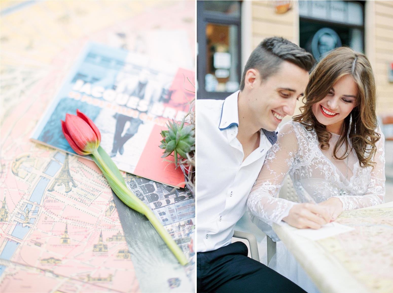 Vespa Love - Valentines Inspiration in Paris