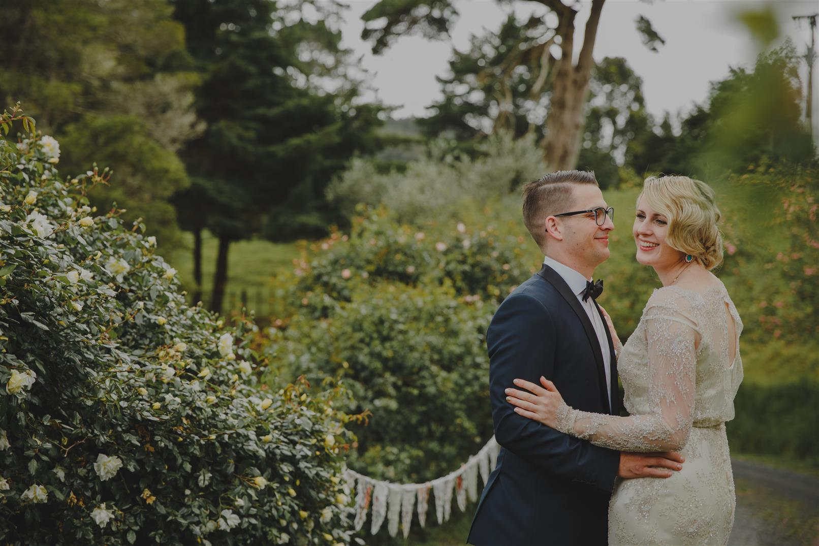 An Elegant Spring Vintage Wedding