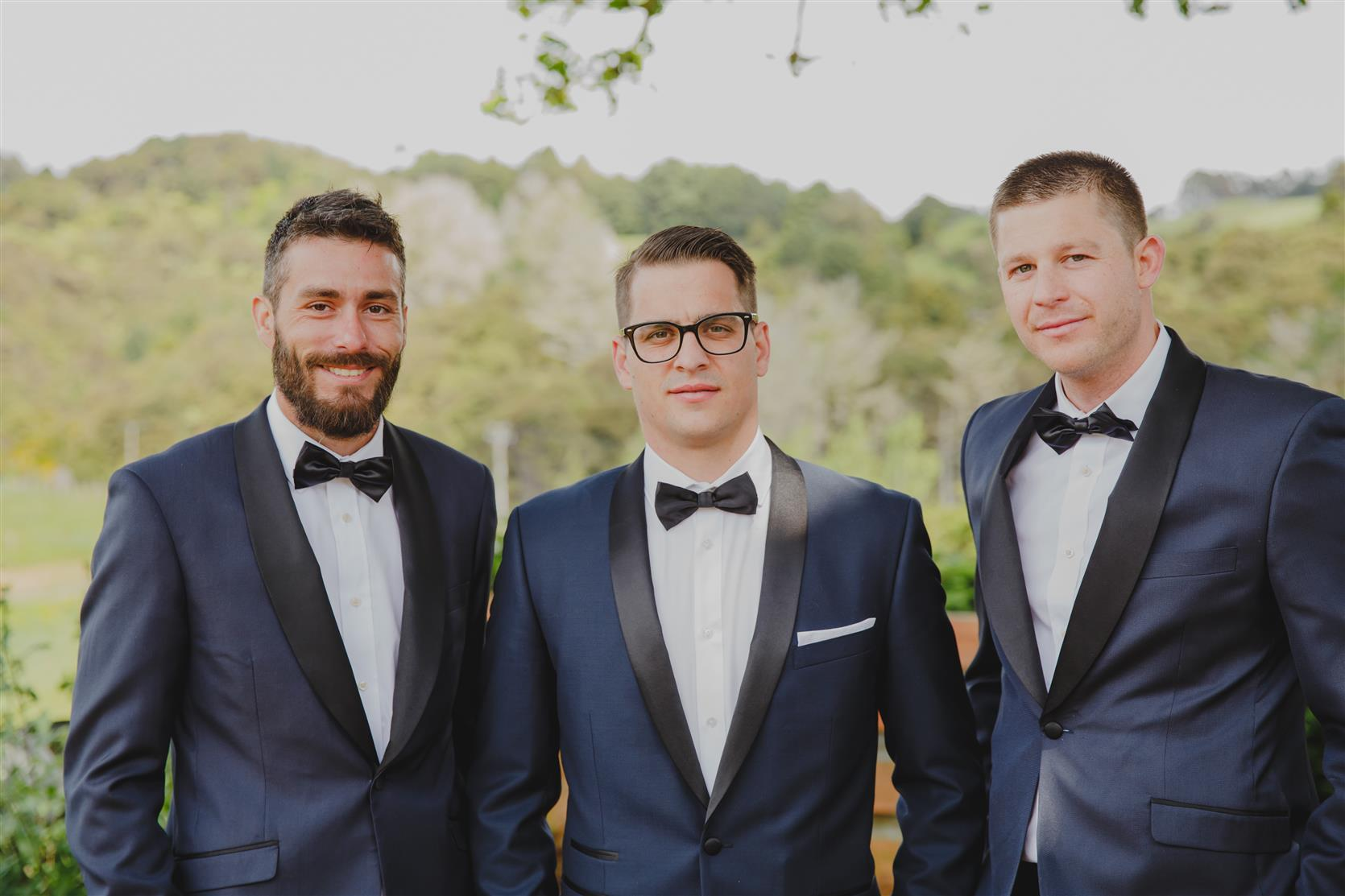 Dapper Groom & Groomsmen - An Elegant Modern Vintage Spring Wedding
